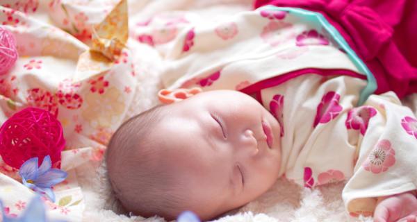 赤ちゃんの衣装・小袖